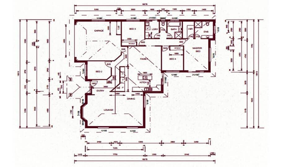 One Storey Plan 159 02 1