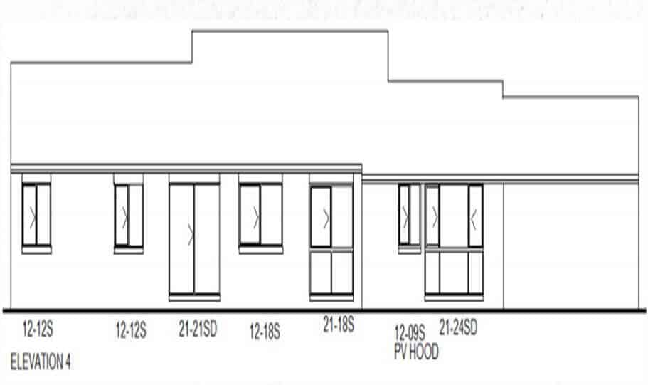 One Storey Plan 170 CL 05