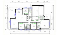 One Storey Plan 220B 02