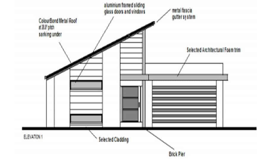 One Storey Plan 220B 03