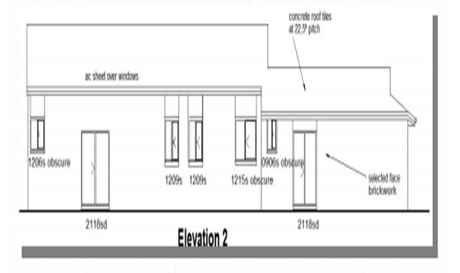One Storey Plan 220N 04