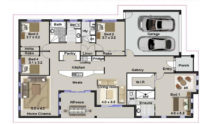 One Storey Plan 246 01