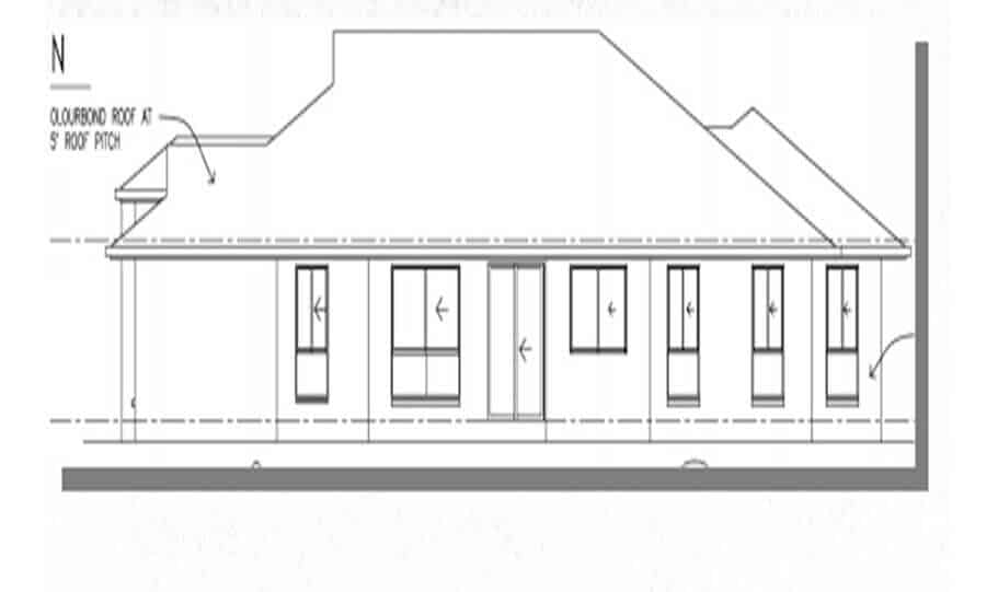 One Storey Plan 250 04