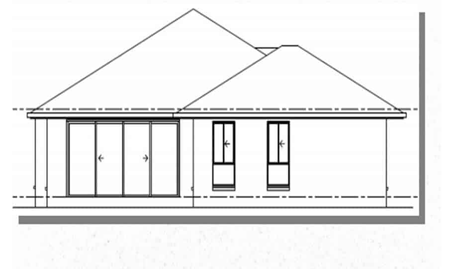 One Storey Plan 250 05