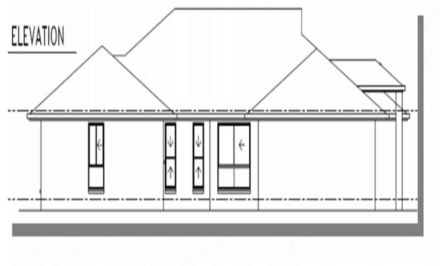 One Storey Plan 250 06