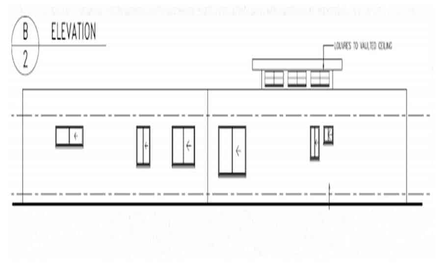 One Storey Plan 270N 06