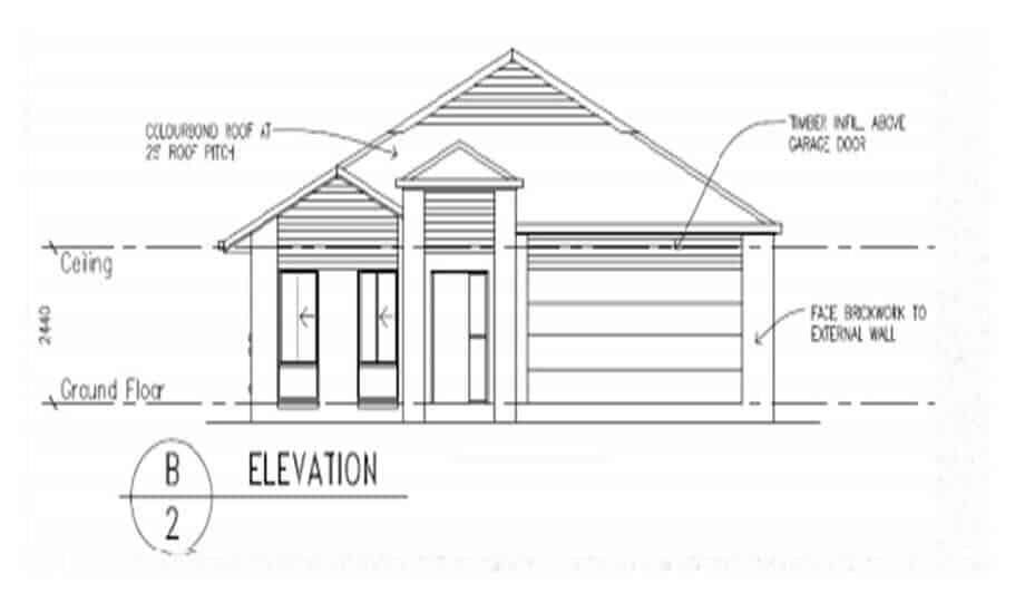 One Storey Plan 288 03