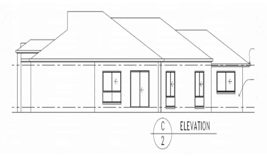 One Storey Plan 288 04