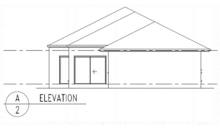 One Storey Plan 288 05