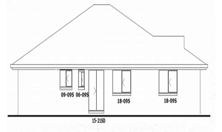 Sloping Land Kit Home Design 134 03
