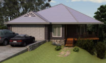 Sloping Land Kit Home Design 134 05