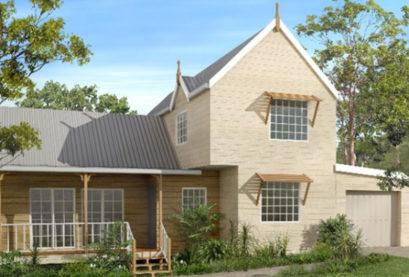 Sloping Land Kit Home Design 150 06