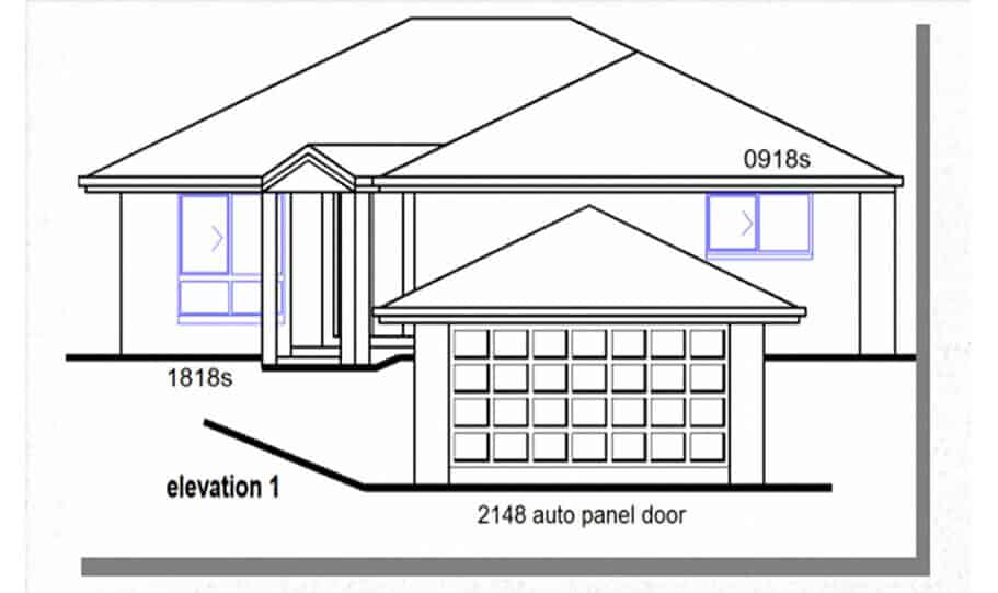 Sloping Land Kit Home Design 218 03