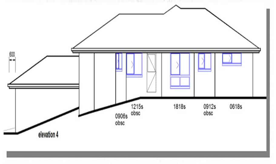 Sloping Land Kit Home Design 218 06
