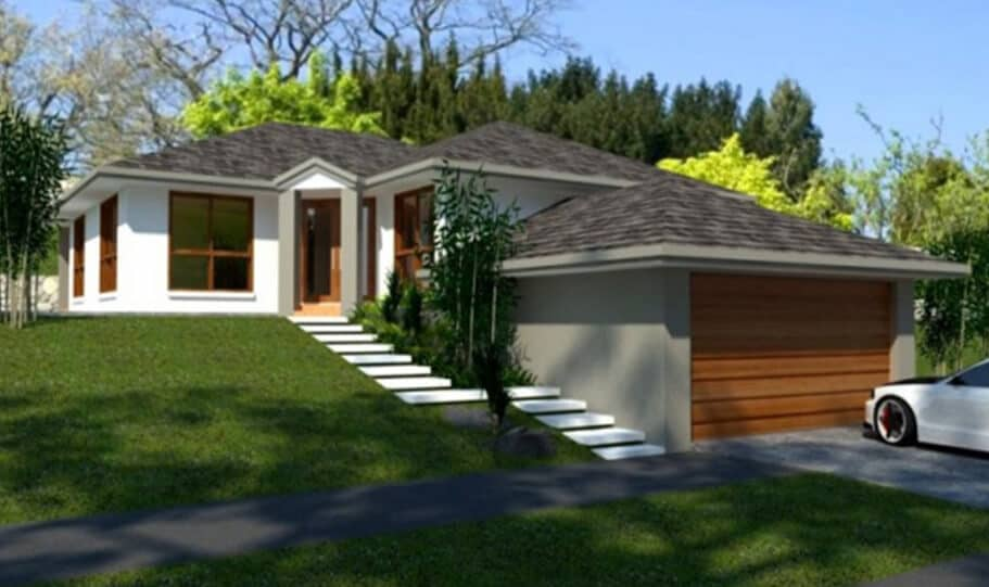 Sloping Land Kit Home Design 218 07