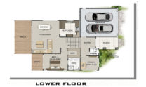 Sloping Land Kit Home Design 279 02