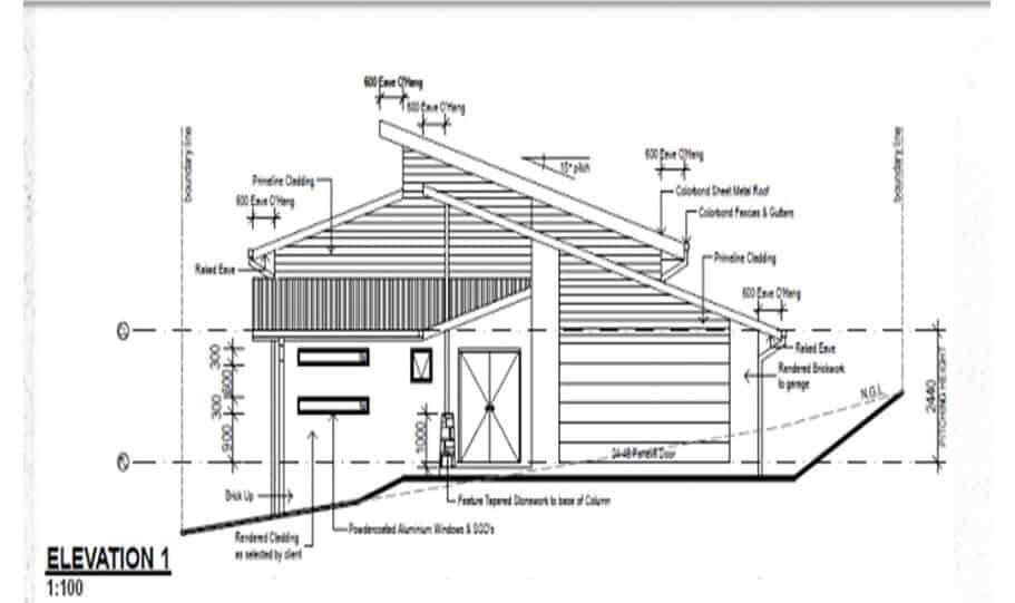 Sloping Land Kit Home Design 279 04
