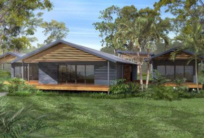Sloping Land Kit Home Design 353 07