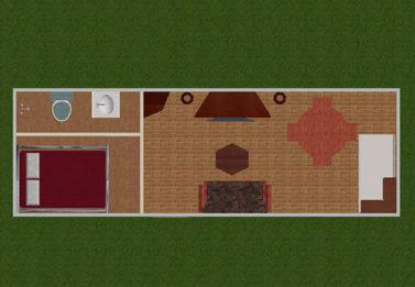 Spark Dwight 1 Bedroom 3x6 8