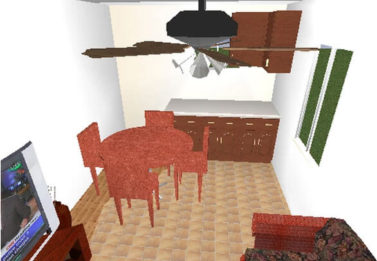Spark Dwight 1 Bedroom 3x9 7
