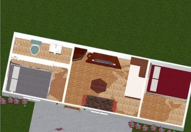 Spark Dwight 2 Bedroom 3x9 2