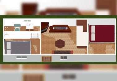 Spark Dwight 2 Bedroom 3x9 7
