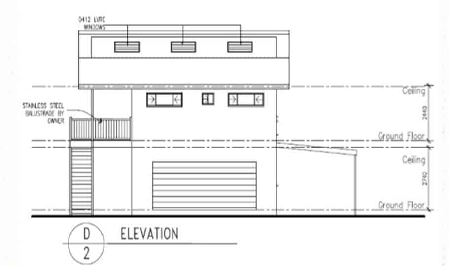 Two Storey Kit Home 251 A 06