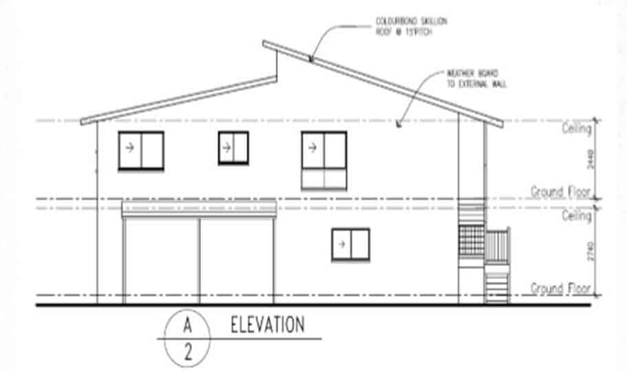 Two Storey Kit Home 251 A 07