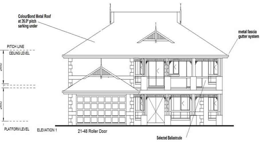 Two Storey Kit Home 280 LH 05