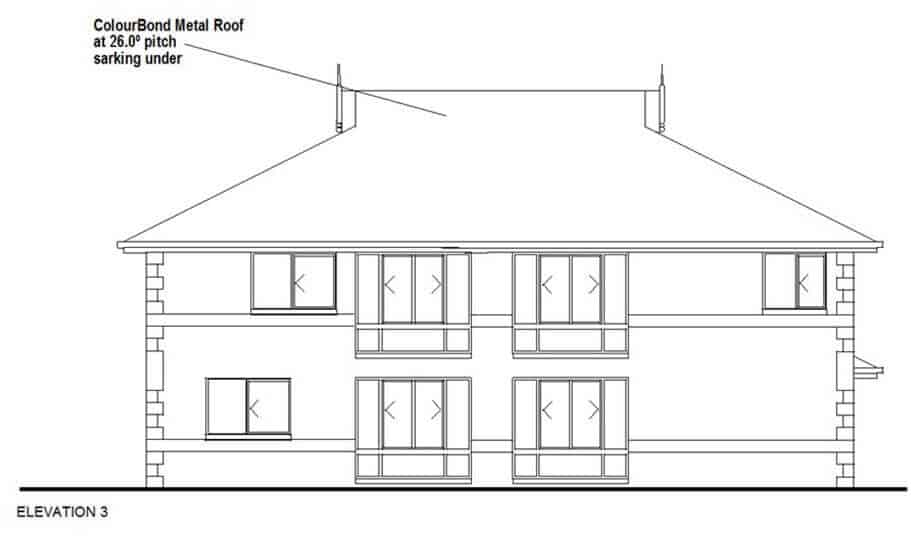 Two Storey Kit Home 280 LH 07