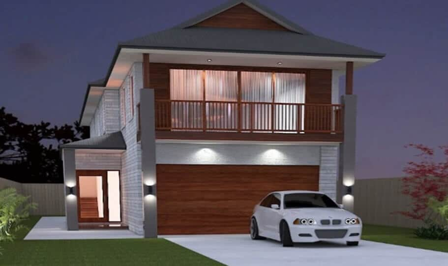 Two Storey Kit Home 321 09