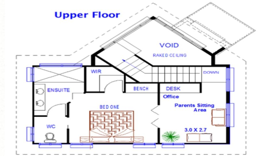 Two Storey Kit Home Plan 251 B 251.59 m2 4 Bed 2 Bath 3