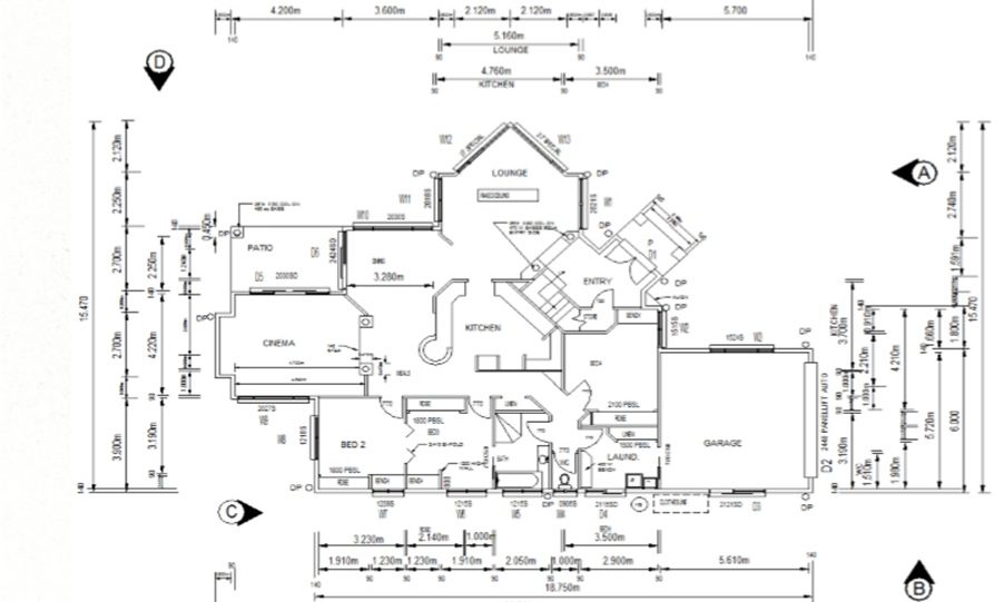 Two Storey Kit Home Plan 251 B 251.59 m2 4 Bed 2 Bath 4