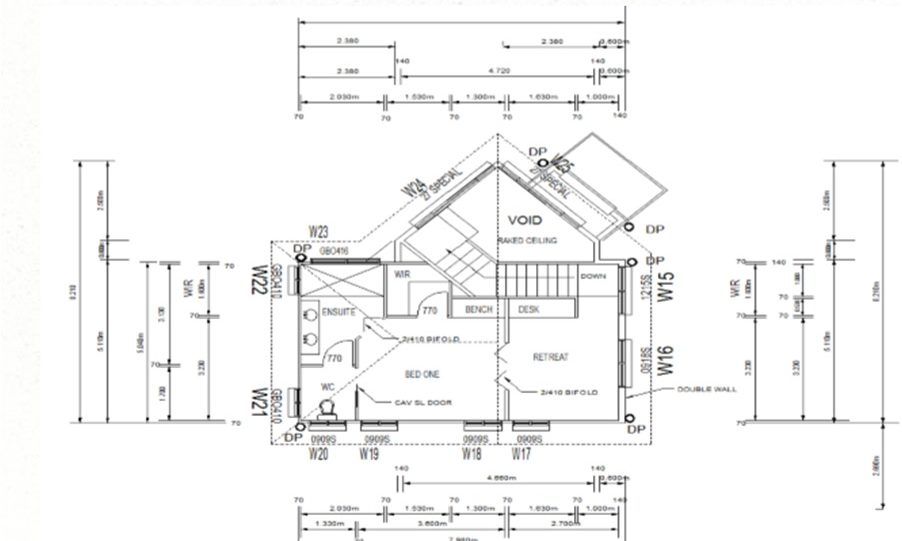 Two Storey Kit Home Plan 251 B 251.59 m2 4 Bed 2 Bath 5