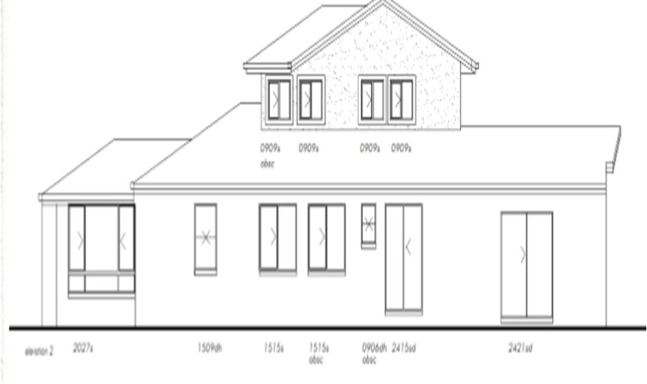 Two Storey Kit Home Plan 251 B 251.59 m2 4 Bed 2 Bath 7