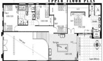 Two Storey Kit Home Plan 426 426 m2 4 Bed 3 Bath 2