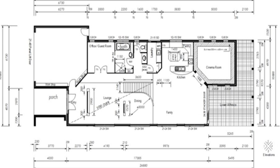 Two Storey Kit Home Plan 426 426 m2 4 Bed 3 Bath 5