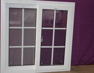 UPVC Double Glazed French Design Doors and Windows 01