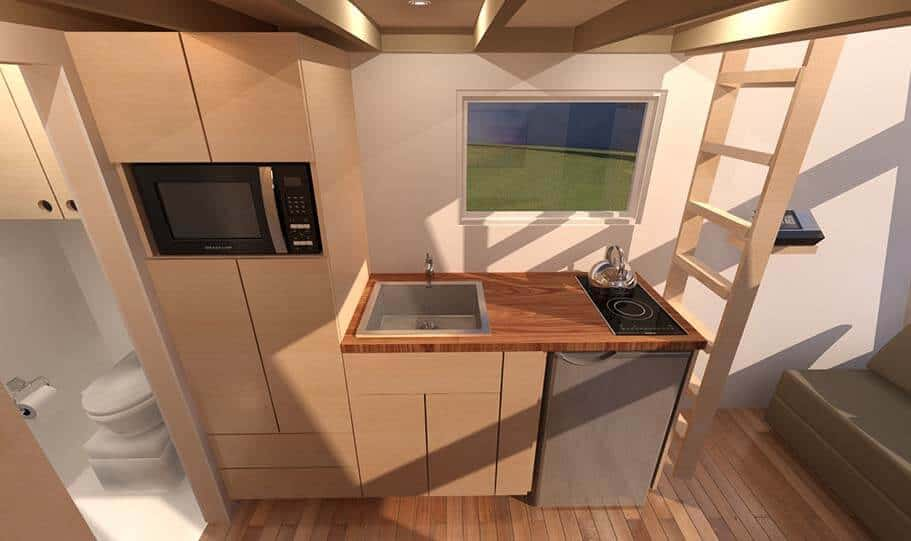 SPARK Tiny house Anchor Bay 16 04