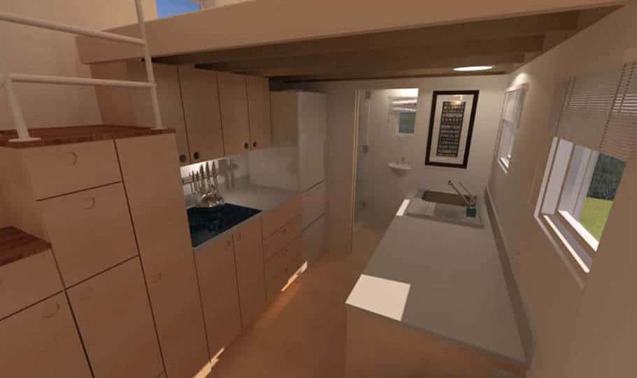 SPARK Tiny house Potter Valley 24 08