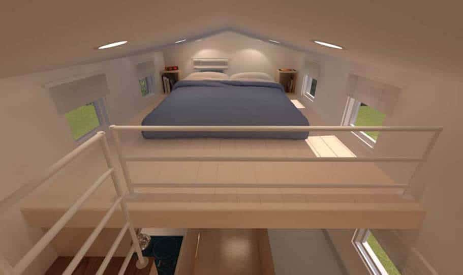 SPARK Tiny house Potter Valley 24 09