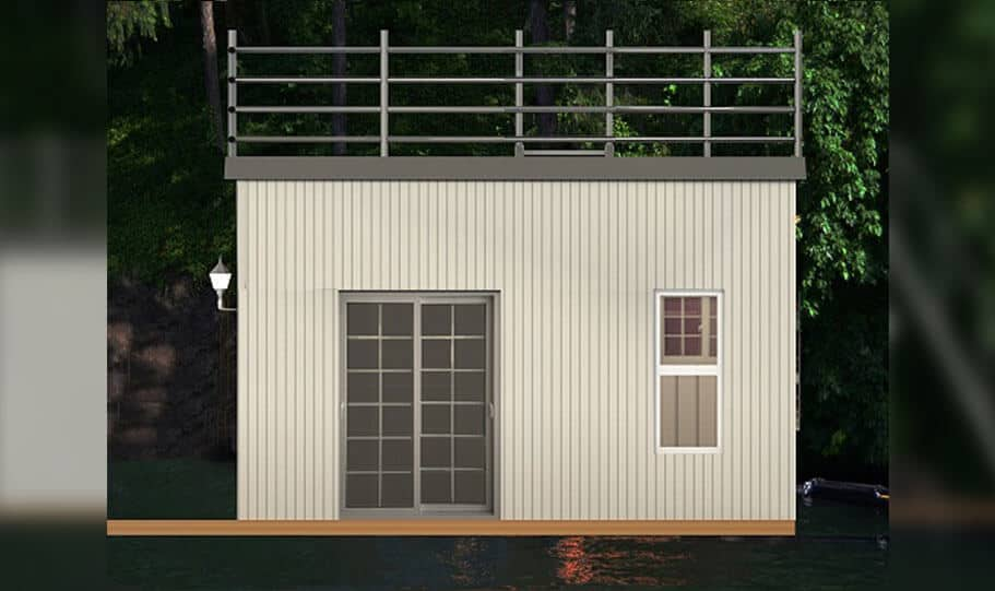 Spark Boat House House Boat Bedroom