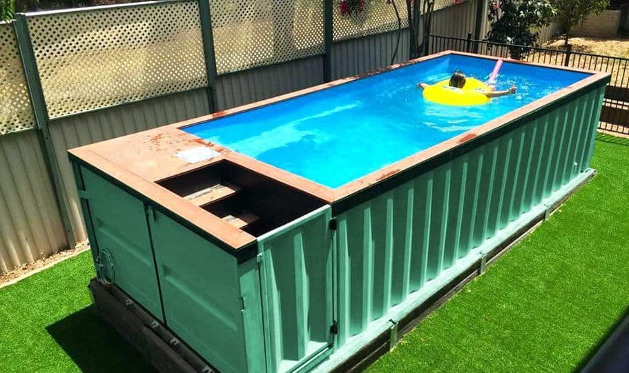Spark Container Swimming Pool